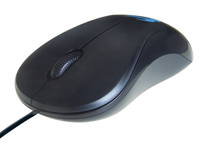 MO542 3 Button USB Anti-Bacterial Optical Scroll Mouse