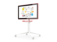 Google Jamboard in Red 55-inch, 4K UHD Digital, Collaborative Whiteboard