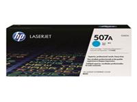 HP 507A - Cyan - original - LaserJet - toner cartridge ( CE401A ) - for LaserJet Enterprise 500, 500 M551, flow MFP M575; LaserJet Pro 500