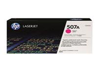 HP 507A - Magenta - original - LaserJet - toner cartridge ( CE403A ) - for LaserJet Enterprise 500, 500 M551, flow MFP M575; LaserJet Pro 500