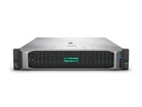 HPE DL385 GEN10 with 2 x AMD EPYC 7351 2.4 GHz, 128GB Ram, Ethernet 10/25Gb 2P 640FLR-SFP28 Adapter, 2 x 300GB SAS 10K SFF HDD, 4 x 2.4TB SAS 12G 10K SFF SC 512e DS HDD, 2 x 480GB SATA MU SFF SC DS SSD, 2 x 800 Watt Hot Swap PSU