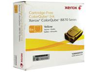 Xerox ColorQube 8870 - 6 - yellow - solid inks - for ColorQube 8870DN, 8880_ADN, 8880_ADNM