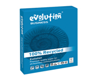 Produced from 100% recovered fibre. Manufactured without chlorine bleaching high whiteness is achieved with a special converting process for the recycled fibre. High opacity good sheet information and maximum ageing resistance