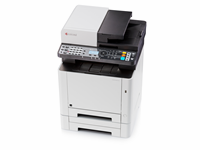 ECOSYS M5521cdw 21ppm black and white/colour MFP, 512MB, ECOSYS 1200dpi, wifi and duplex as standard.