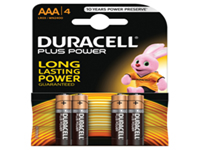 Dependable power and quality across a wide range of everyday appliances. Long lasting battery designed for use in non-high drain appliances. Type - AAA.