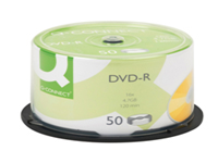 Writable CDs for an easy and quality solution to storage problems. Can be used in CD-R and CD-RW drives without any problem. Easily transported with a durable safety. Provides easy storage of data. Capacity: 4.7GB. Pack of 50.
