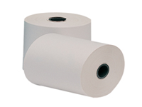 Q-Connect Adding Machine Rolls manufactured from single ply wood free. A quality bright White paper producing a crisp clear image. End of roll warning ensures that you never run out of paper. Size: 57x57x12.7mm.