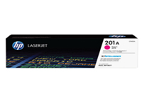 HP 201A - Magenta - original - LaserJet - toner cartridge (CF403A) - for Color LaserJet Pro M252; LaserJet Pro MFP M274, MFP M277