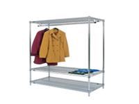 FD Static Garment Rail 1219X610mm 366046