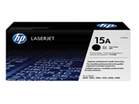 HP 15A - Black - original - LaserJet - toner cartridge ( C7115A ) - for LaserJet 1000, 1005, 1200, 1220, 3300, 3310, 3320, 3330, 3380