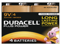 Dependable power and quality across a wide range of everyday appliances. Long lasting battery designed for use in non-high drain appliances. Type - 9V.