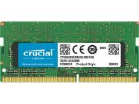 Crucial - DDR4 - 4 GB - SO-DIMM 260-pin - 2400 MHz / PC4-19200 - CL17 - 1.2 V - unbuffered - non-ECC