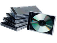 Q Connect CD Jewel Cases. Plastic standard sized cases to keep CDs safe and clean. Colour - Black.