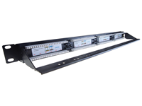 24 Port IDC 19 inch Patch Panel Cat 6 With Lacing Bar, Patch panels are rack mountable cable termination ports that allow circuits, departments, workstations etc to be conveniently identified and labelled.