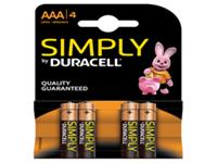 Duracell MN 2400 - Battery 4 x AA Alkaline