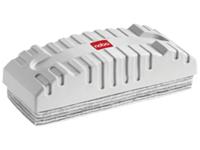 Nobo Easypeel Drywipe Whiteboard Eraser with 10 Peelable Felt Pads (White)