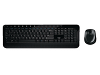 Microsoft Wireless Desktop 2000 - Keyboard and mouse set - wireless - 2.4 GHz - UK layout