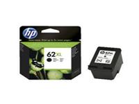 HP 62XL - High Yield - black - original - ink cartridge - for Envy 55XX, 56XX, 76XX; Officejet 250, 252, 57XX, 8040