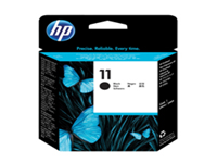 HP 11 - Black - printhead - for Business Inkjet 1000, 1200, 2800; DesignJet 11X, 500, 510, 70, 820; Officejet Pro K850