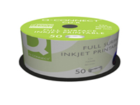 Supplied on a spindle of 50 discs ideal for creating music CDs and data backups. Top 52x write speed and standard 700MB capacity. Features an Inkjet printable label surface for customised labels using a printer able to print on CDs.