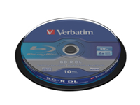 Verbatim - 10 x BD-R DL - 50 GB 6x - spindle