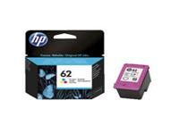 HP 62 - 4.5 ml - dye-based tricolour - original - ink cartridge - for Envy 55XX, 56XX, 76XX; Officejet 250, 252, 57XX, 8040