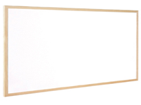 Q-Connect Whiteboard. Lightweight Dry wipe whiteboard with smooth writing surface and wooden trim. Supplied complete with fixing kit. Size - 400 x 300mm.