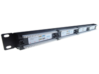 24 Port IDC Patch Panel Cat 6, Patch panels are rack mountable cable termination ports that allow circuits, departments, workstations etc to be conveniently identified and labelled.