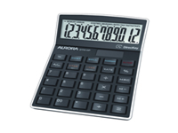 Aurora DT910P Desktop Calculator. Dual power 12 digit calculator with tax function auto shut off and cost sell and margin functions.