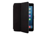 "techair Hardcase - Flip cover for tablet - PET rubberised - black - 10.2"" - for Apple 10.2-inch iPad (7th generation)"