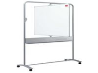 Nobo 900 x 1200mm Mobile Drywipe Board Vertical