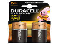 Dependable power and quality across a wide range of everyday appliances. Long lasting battery designed for use in non-high drain appliances. Type - D.