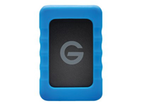 "G-Technology G-DRIVE ev RaW GDEVRAWEA20001ADB - Hard drive - 2 TB - external (portable) - 2.5"" - USB 3.0 / SATA 3Gb/s - 5400 rpm"