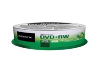 Sony 25DPW47SP - 25 x DVD+RW - 4.7 GB 4x - spindle