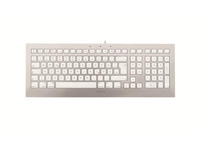 CHERRY STRAIT 3.0 - Keyboard - USB - German - white